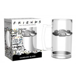 Friends Glass Stein Central Perk
