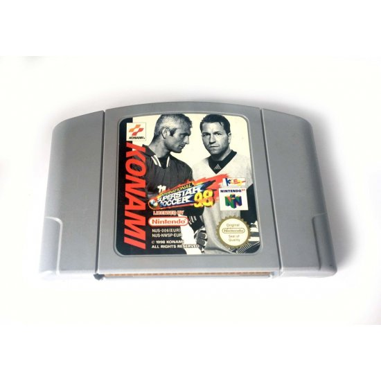 N64 – International Superstar Soccer 98