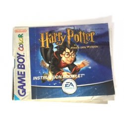 Manuals & Inserts - GameBoy Color – Harry Potter en de steen der wijzen (Dutch Manual) -
