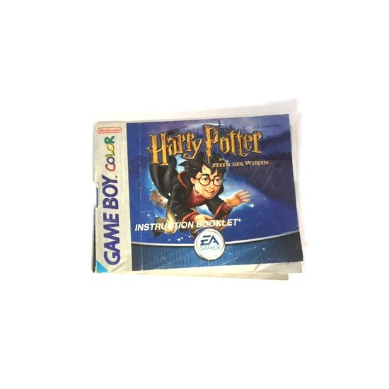 GameBoy Color – Harry Potter en de steen der wijzen (Dutch Manual)