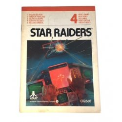 Manuals & Inserts - Atari 2600 – Star Raiders Instructions (EU) -