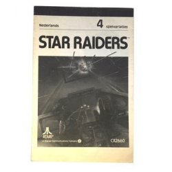 Manuals & Inserts - Atari 2600 – Star Raiders Instructions (Dutch) -
