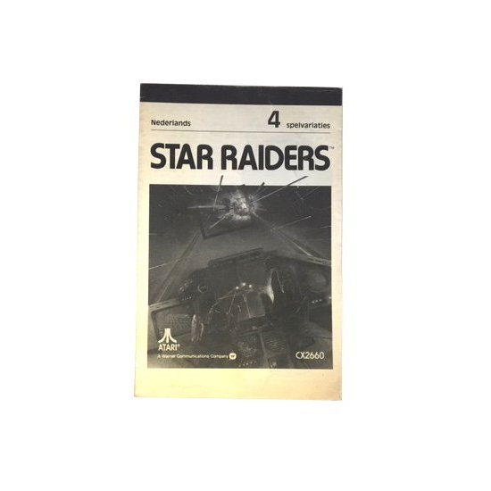Atari 2600 – Star Raiders Instructions (Dutch)