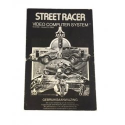 Manuals & Inserts - Atari 2600 – Street Race Game Program Instructions v2 (Dutch) -