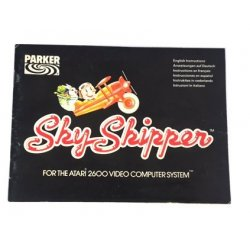 Manuals & Inserts - Atari 2600 – Sky Skipper Instructions (EU) -