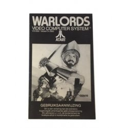 Manuals & Inserts - Atari 2600 – Warlords Instructions (Dutch) -