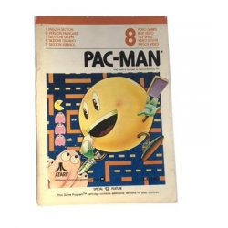 Manuals & Inserts - Atari 2600 – Pac Man Instructions (EU) -