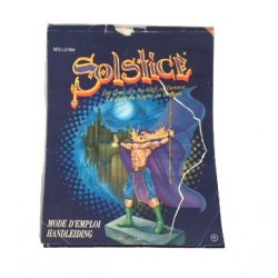 NES – Solstice Instructions (Dutch)