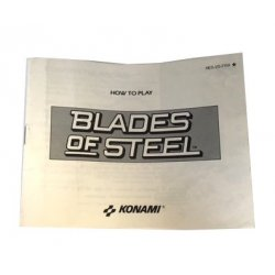 Manuals & Inserts - NES – Blades Of Steel Instructions (EU) -