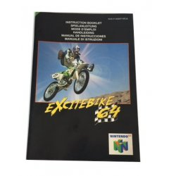 Manuals & Inserts - N64 – Excitebike 64 Instructions (EU) -
