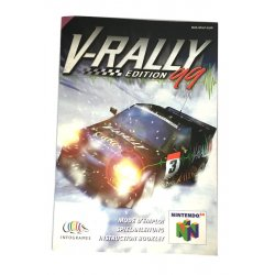 Manuals & Inserts - N64 – V-Rally Edition 99 Instructions (EU) -