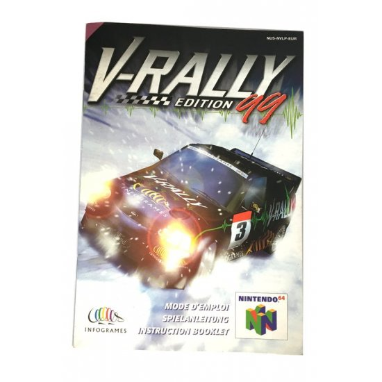 N64 – V-Rally Edition 99 Instructions (EU)