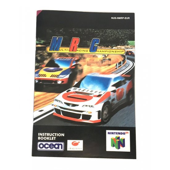N64 – MRC Multi Racing Championship Instructions (EU)