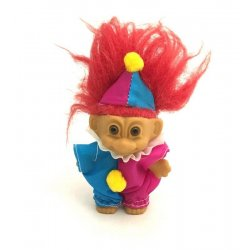 My Lucky Clown Troll Doll