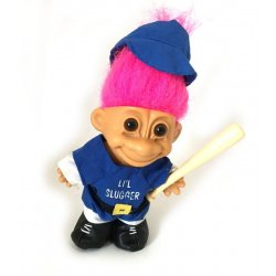 My Lucky Baseball Player Troll Doll