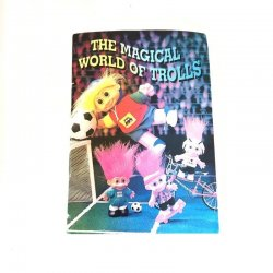 The Magical World Of Trolls - Mini Brochure Booklet