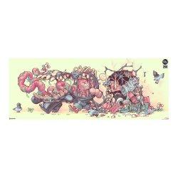 Marvel Art Print Venom: The Symbiote Stroll by Tien Hee 76 x 36 cm - unframed