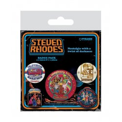 Steven Rhodes Pin Badges 5-Pack Collection