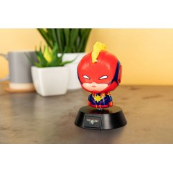 Marvel 3D Icon Light Captain Marvel