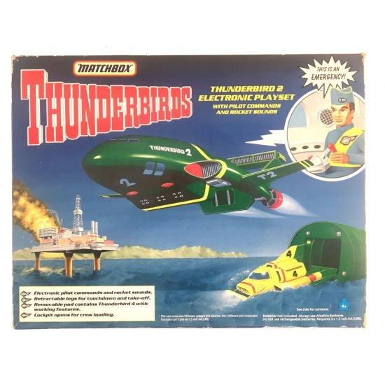 Thunderbirds – Thunderbird 2 Electronic Playset