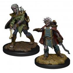 WizKids Wardlings Miniatures Zombie (Female) & Zombie (Male) Case (6)