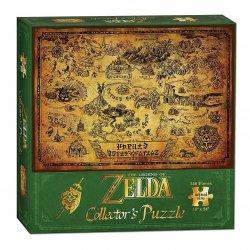 Legend of Zelda Puzzle Hyrule Map