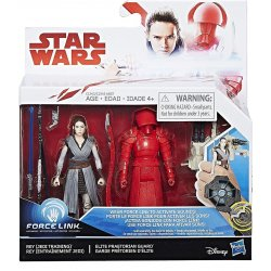 Star Wars: Last Jedi – Rey (Jedi Training) & Elite Praetorian Guard