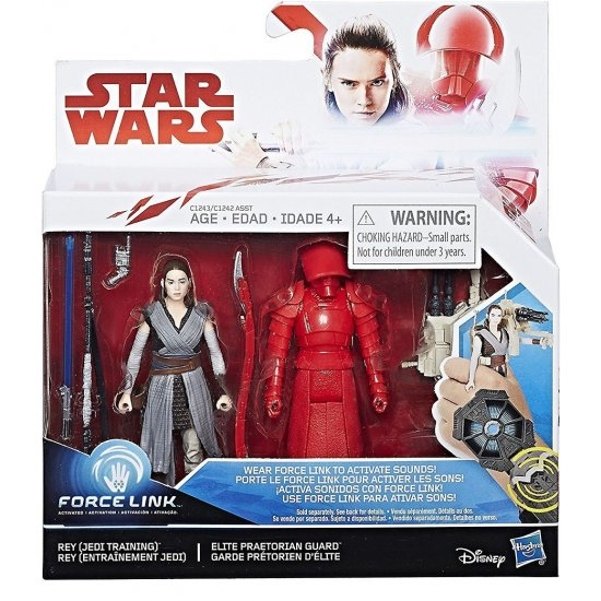 Star Wars: Last Jedi – Rey (Jedi Training) & Elite Praetorian Guard