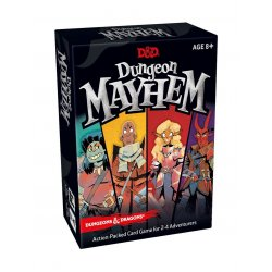 Dungeons & Dragons Card Game Dungeon Mayhem english