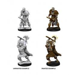 D&D Nolzur's Marvelous Miniatures Unpainted Miniatures Male Goliath Barbarian Case (6)
