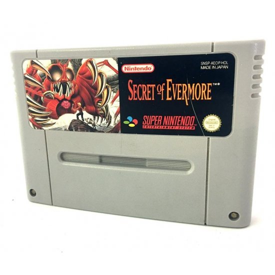 Super Nintendo – Secret of Evermore