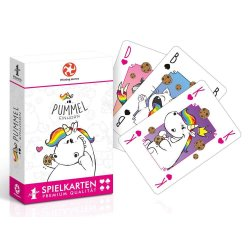 Chubby Unicorn Number 1 Playing Cards *German Version*