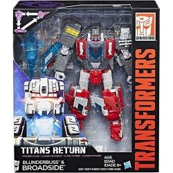 Transformers Generations - Titans Return Voyager Class: Broadside & Blunderbuss