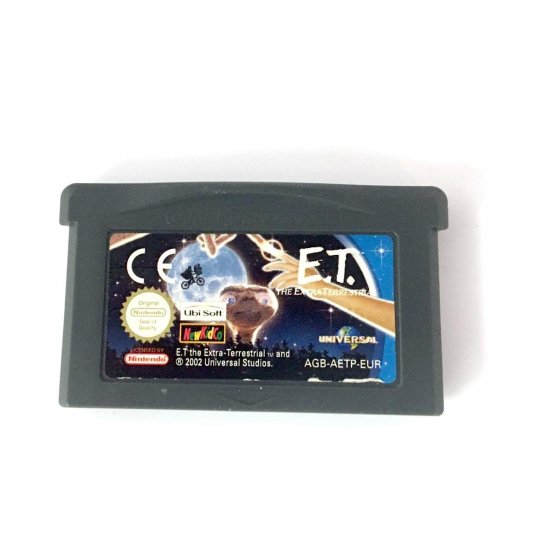 GameBoy Advance – E.T. The Extra-Terrestrial