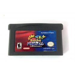 GameBoy Advance - GameBoy Advance – Pokemon: Pinball -