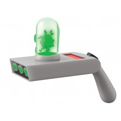 Rick and Morty Vinyl Toy Sound and Light Up Portal Gun