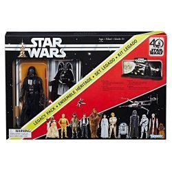Star Wars: Black Series - Darth Vader 40th Anniversary Legacy Pack