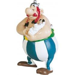 Asterix Figure Obelix with Dogmatix 8 cm