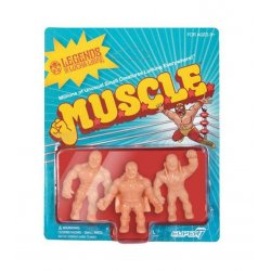Legends of Lucha Libre M.U.S.C.L.E. Figures 3-Pack Pack B 4 cm