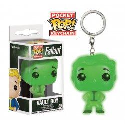 Fallout Pocket POP! Vinyl Keychain Vault Boy Glow In The Dark 4 cm