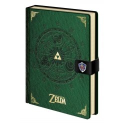 Legend of Zelda Premium Notebook A5 Triforce New Version