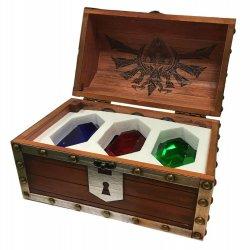 Legend of Zelda Paperweight 3-Pack Rupee Chest