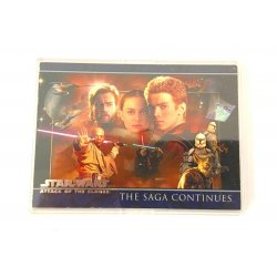 Star Wars: Attack of the Clones (The Saga Continues) Promo Card P1