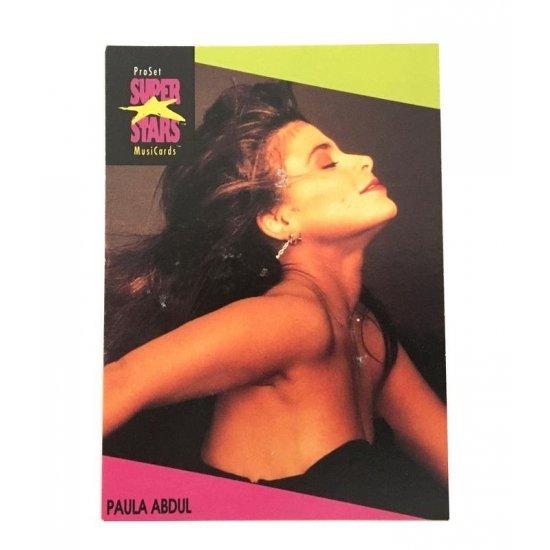 Proset Musicards Super Stars – Paula Abdul