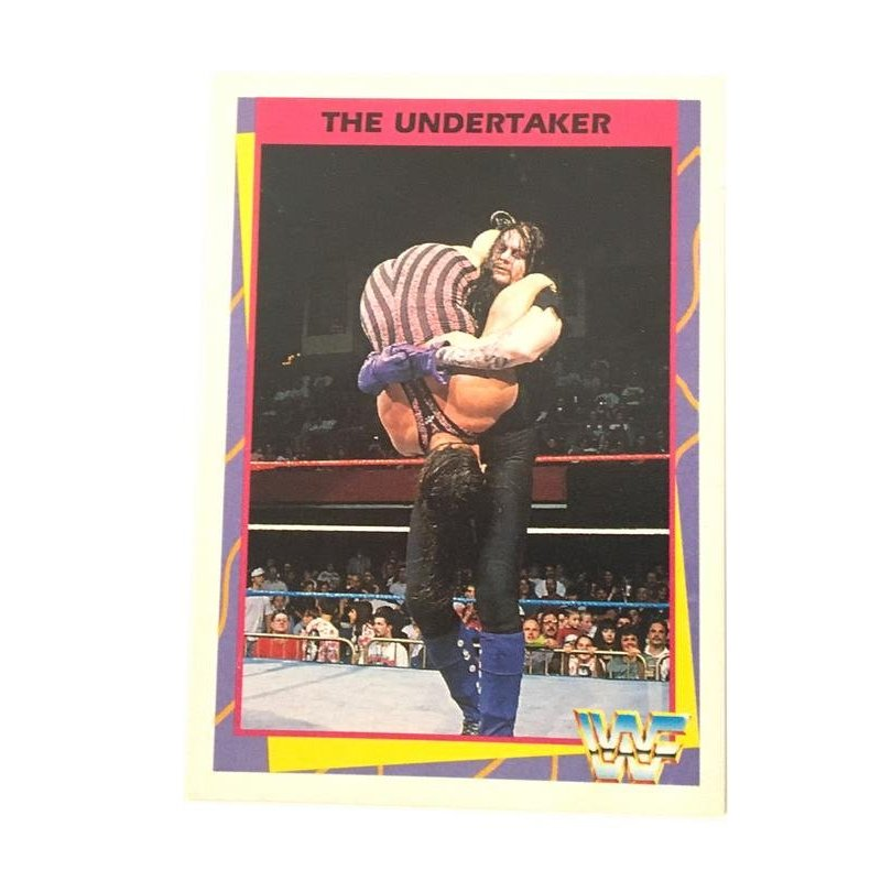 Collector Cards - Merlin: WWF – The Undertaker 115 (German Card) -