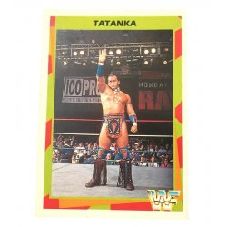 Merlin: WWF – Tatanka 127 (German Card)