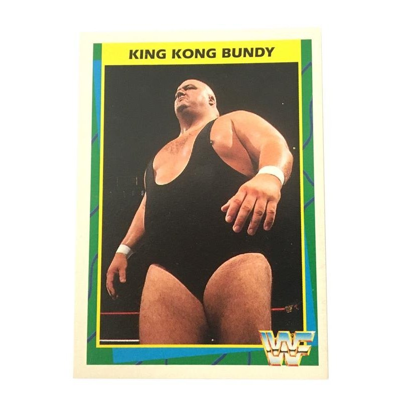 Collector Cards - Merlin: WWF – King Kong Bundy 138 (German Card) -