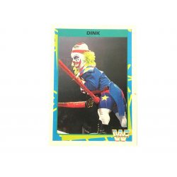 Merlin: WWF – Dink 180 (German Card)