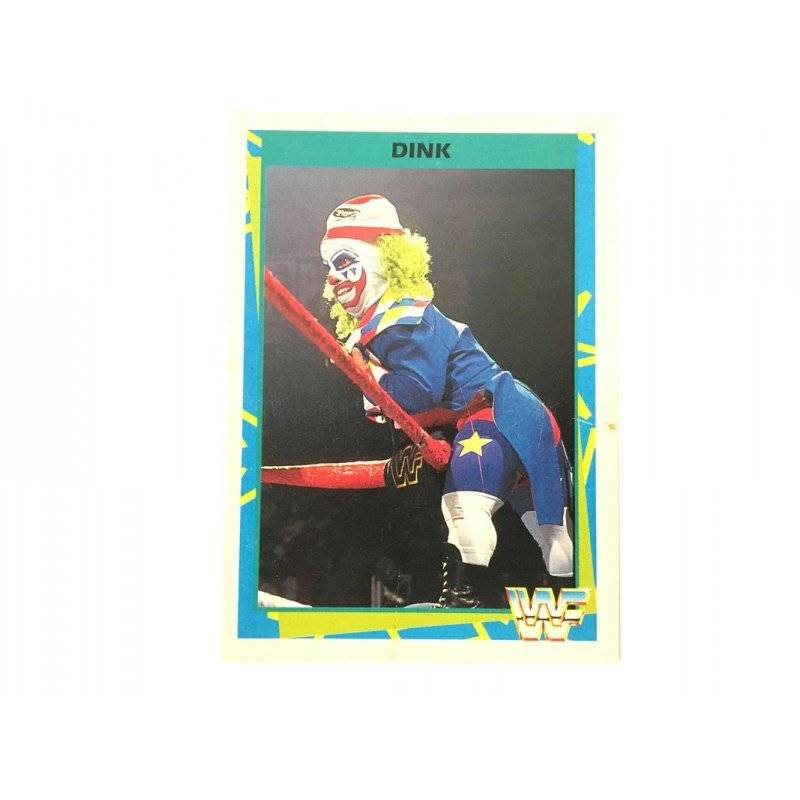 Collector Cards - Merlin: WWF – Dink 180 (German Card) -