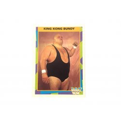 Merlin: WWF – King Kong Bundy 17 (German Card)